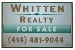 Whitten Realty for sale sign